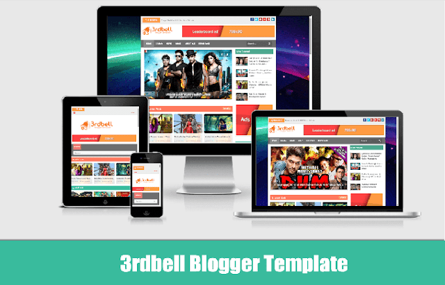 3rdbell Video Blogger Template