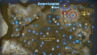 Dinraal Dragon Location, Breath of the Wild
