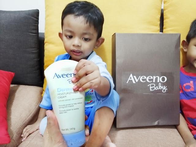 Nikmati hidup yang terbaik dengan perlindungan Prebiotik Oat dalam Aveeno® dan Aveeno Baby®!