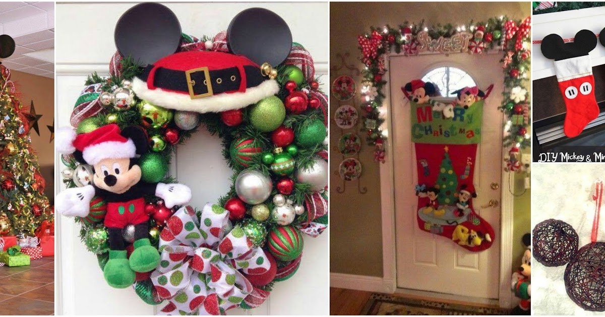 16 ideas decorativas navide as con tem tica de mickey