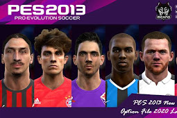 Option File Next Season Patch #27-01-2020 - PES 2013