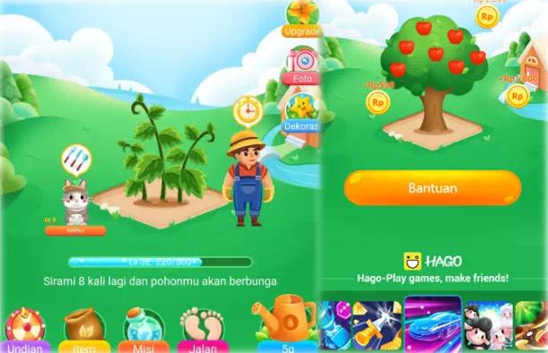 Hago pertama kali dirilis sebagai aplikasi game online yang menampilkan berbagai macam per Cara Mendapatkan Uang di Hago Game