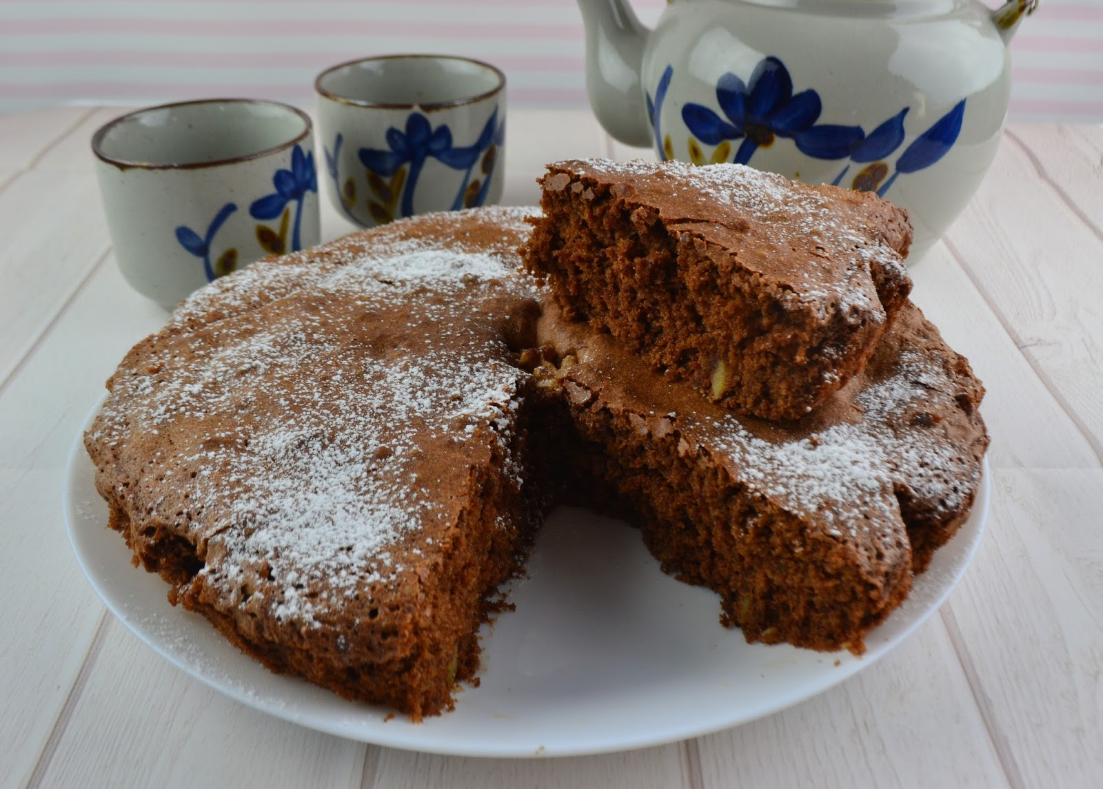 LA GAIA CUCINA DI PATTY...: Torta noci e cioccolato