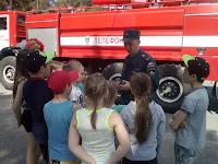 (ФОТО) МЧС проверили знания о пожарной безопасности