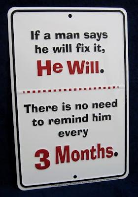 A MAN WILL FIX IT