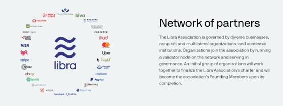 perusahaan pendukung facebook libra coin