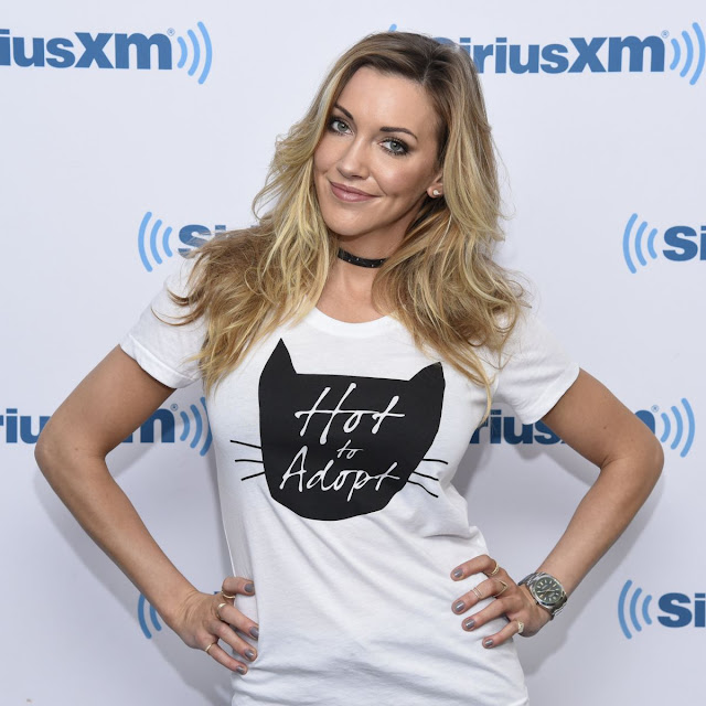 HQ Photos of Katie Cassidy with Cate At Siriusxm Studio In New York