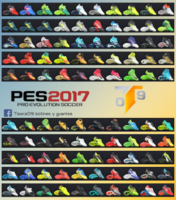 PES 2017 New BootPack v4 by Tisera09 ( 100 Boots )