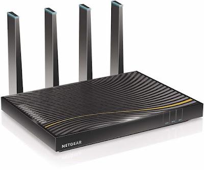 Netgear AC3200 C7500-100NAS WiFi Router Cable Modem