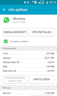 Aplikasi WhatsApp atau yang sering disebut W TAS:  Cara Praktis Offline WhatsApp
