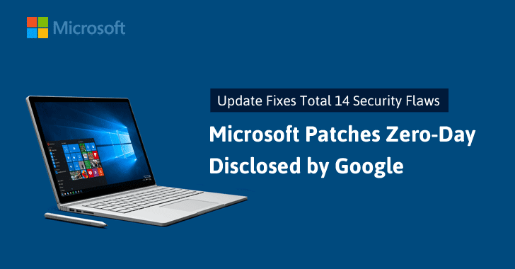 Microsoft Patches Windows Zero-Day Flaw Disclosed by Google