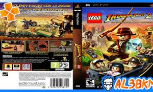 تحميل لعبة Lego Indiana Jones 2 The Adventure Continues psp بحجم صغير لمحاكي ppsspp
