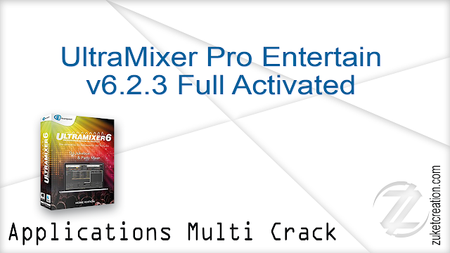 UltraMixer Pro Entertain v6.2.3 Full Activated