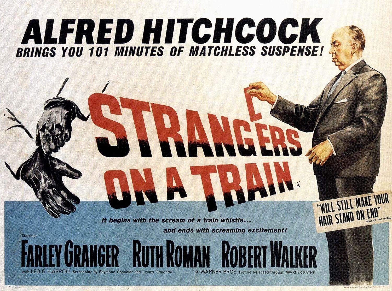 Posterul original al filmului Strangers On A Train