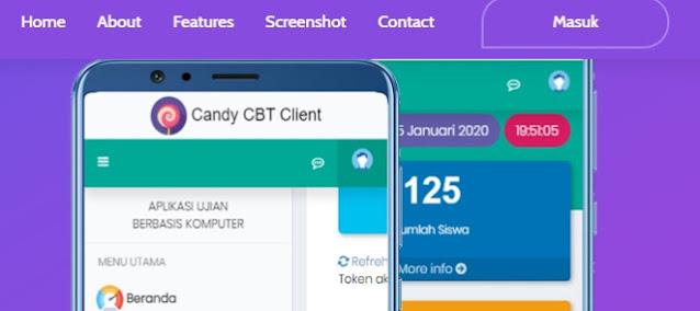 Ulangan Harian Menggunakan CBT Candy Versi 2.7 Instaler