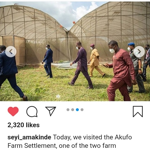 Seyi Makinde set to upgrade one of the two farm settlement into farm estates ( pictures )