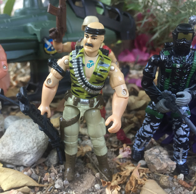 1992 Gung Ho, 2006 Classified, Snake Eyes, Comic Pack, 2005 Winter Operations, Duke, Razor Blade, 1994