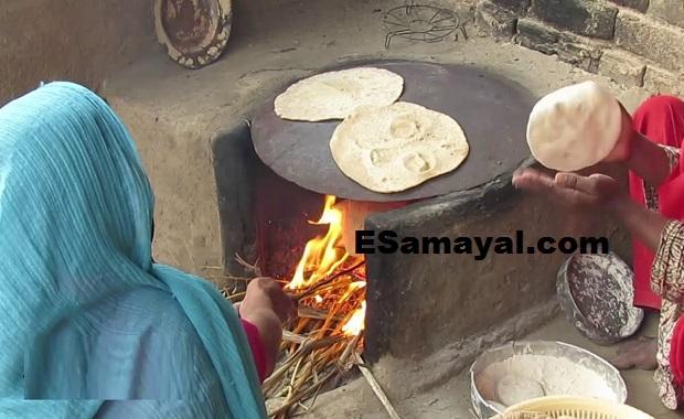 பஞ்சாபி சப்பாத்தி செய்வது | Punjabi Chapati Recipe !