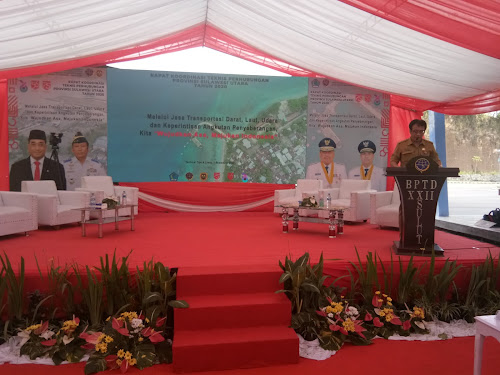 Kepala Direktorat Perhubungan Darat RI Pimpin Langsung Rakortek BPTD Wilayah XXII dan Dishub se - Sulut