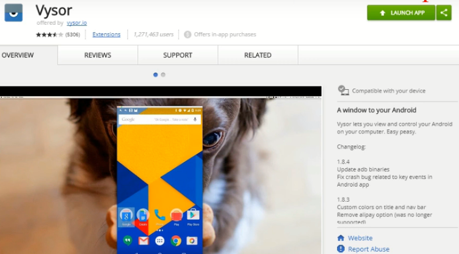 How to mirror Android Screen to PC without root using vysor