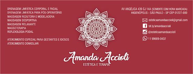 Estética e Terapia Amanda Accioli - adultos, gestantes e idosos atendidos individualmente e com diagnóstico personalizado