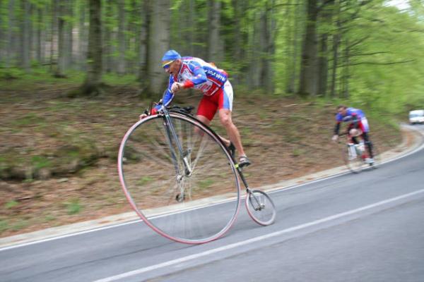 bicicleta engraçada