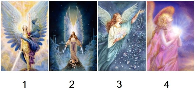 Pick an Angel Card to Receive a Blessed Surprise