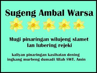 Kata Ucapan Ulang Tahun Bahasa Jawa [ Kromo Alus dan Ngoko ]