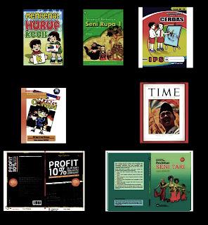 Gambar Ilustrasi Sebuah Sampul Buku atau Majalah