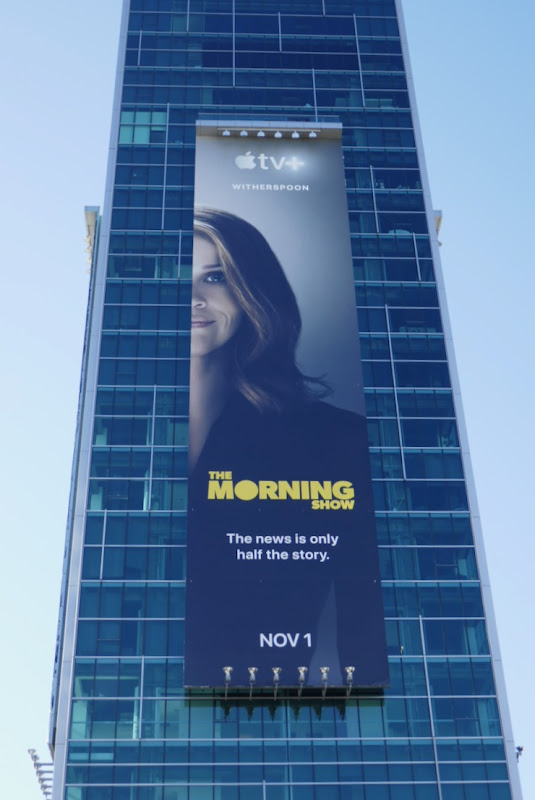 Reese Witherspoon Morning Show Apple TV+ billboard