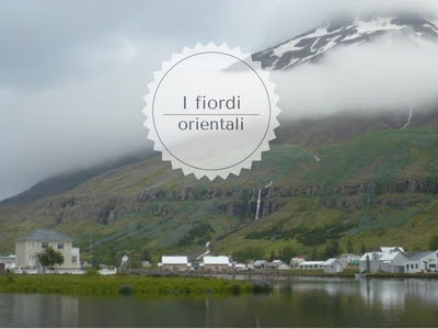 Fiordi orientali in Islanda Seyðisfjörður