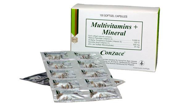Ian Veneracion Conzace packaging