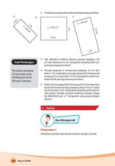kunci jawaban matematika kelas 4 kurikulum 2013 revisi 2018