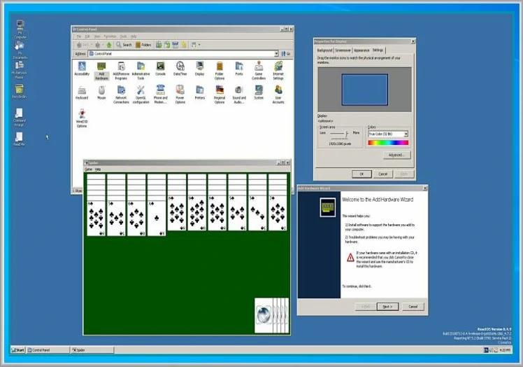 ReactOS :  Δωρεάν λειτουργικό σύστημα με εμφάνιση και αίσθηση  Windows