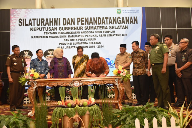 Samakan Persepsi, Gubernur Undang Anggota DPRD Tiga Daerah Sekaligus