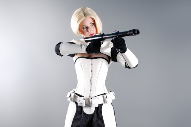 The Blonde Storm Trooper