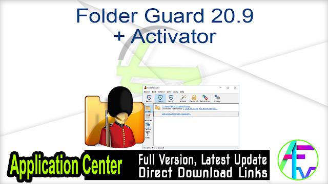 Folder Guard 20.9 + Activator
