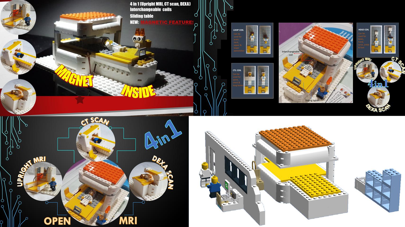 オープンMRI:Open MRIがレゴ(LEGO)アイデア製品化レビュー進出!2020年第3回1万サポート獲得デザイン紹介