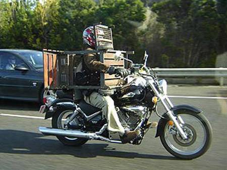 Tingkah Kocak Pengendara Motor Yang Bikin Gregetan Bagi Yang Ngeliatnya