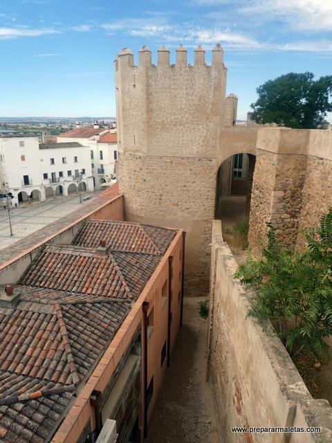visitar la Alcazaba de Badajoz