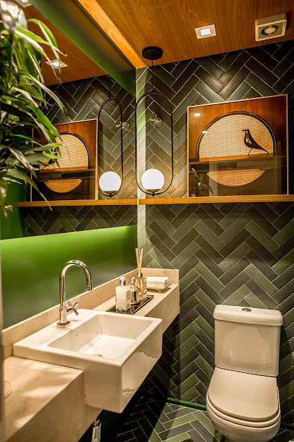 lavabo-decoracao-verde