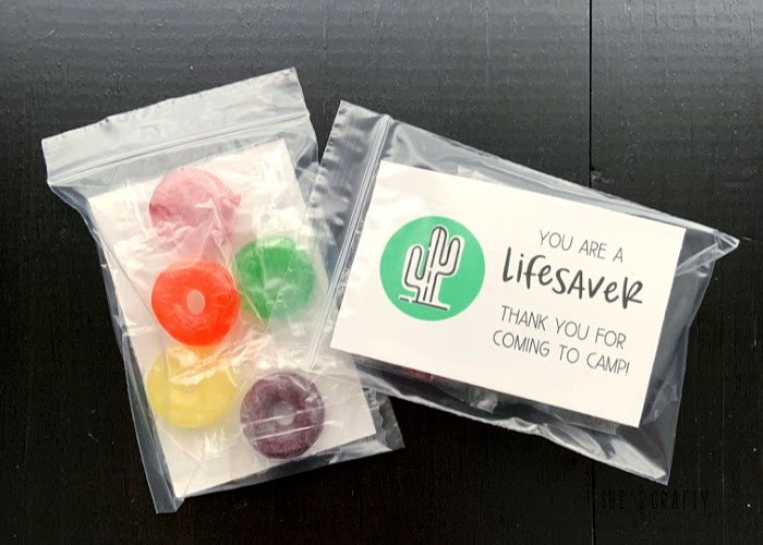 Girls Camp gift ideas for adult leaders, cabin moms and committee members - you are a lifesaver