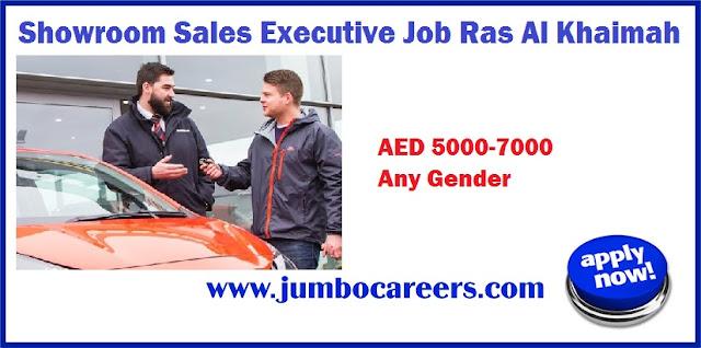 Showroom Sales Executive Job Ras Al Khaimah, luxury car sales jobs Ras Al Khaimah, salesman jobs in uae stores