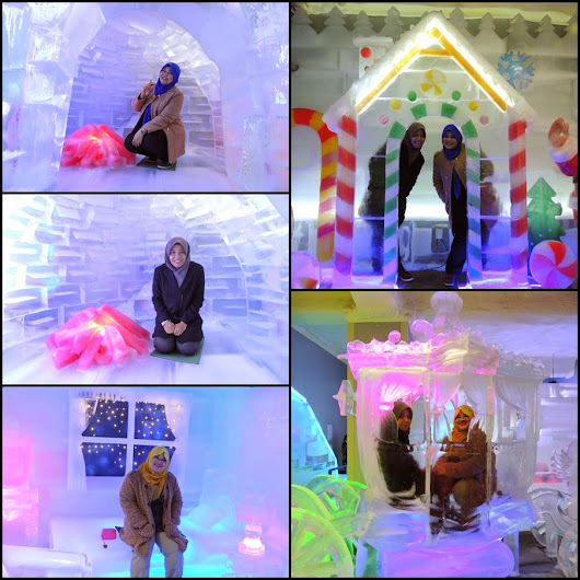 .Trip to Korea Day 3: Ice Museum, Trick Eye Museum & 63 Building:.