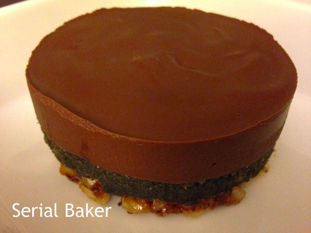 entremet chocolat s 233 same noir et nougatine 224 la noisette paperblog cuisine howldb
