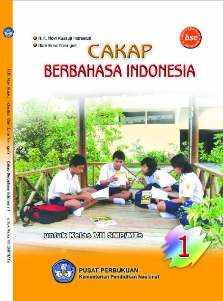 Download Buku Siswa KTSP SMP dan MTs Kelas 7 Cakap Berbahasa Indonesia