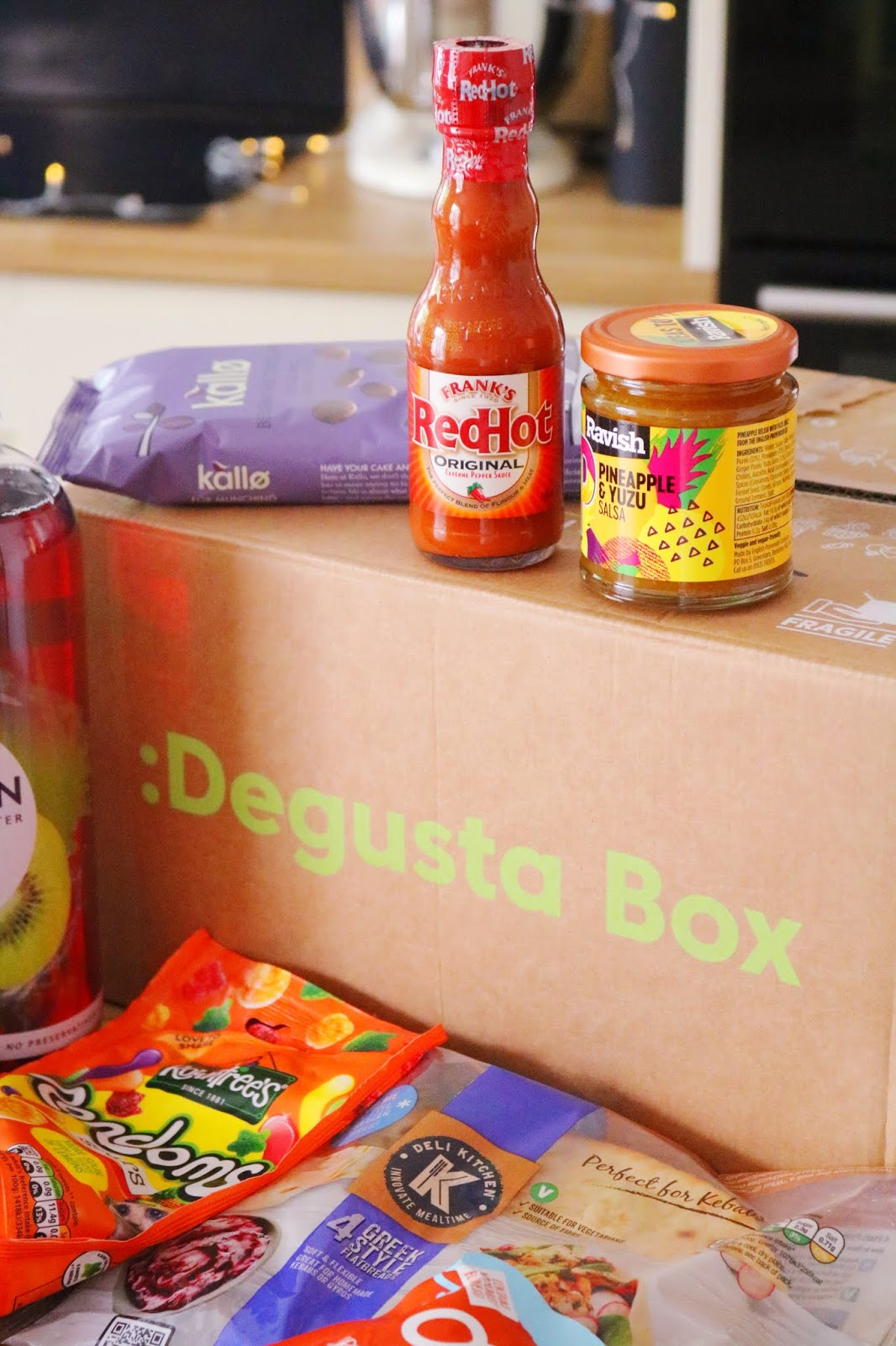 DegustaBox: July 2019