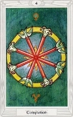Four of Wands, Thoth
