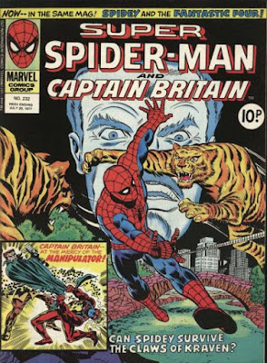 Super Spider-man and Captain Britain #232, Kraven