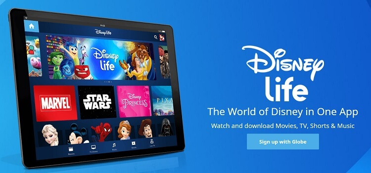 Globe At Home Users Get FREE 3 Months Access to DisneyLife